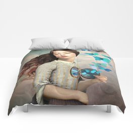 Set Your Heart Free Comforters