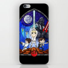 Window to A New Hope iPhone & iPod Skin