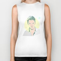 cumberbatch Biker Tanks featuring Benedict Cumberbatch by chyworks