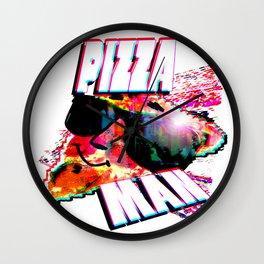 PIZZA MAN! Wall Clock
