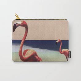 Flamingo beach Carry-All Pouch