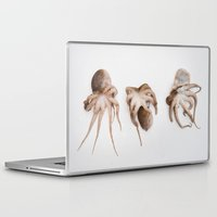 squid Laptop & iPad Skins featuring Squid by Courtney Spencer