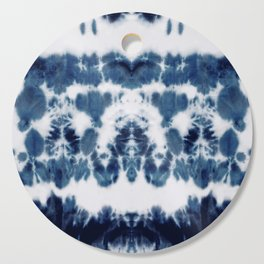 Shibori Not Sorry Cutting Board