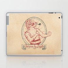 Champion of the Jungle Laptop & iPad Skin