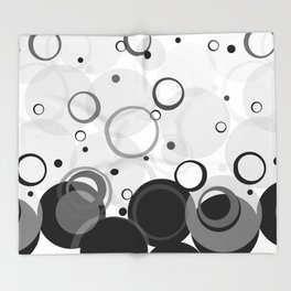 Circle Dance, Bubbles, Champagne Throw Blanket