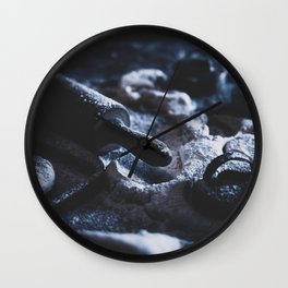 Old Fashioned Biscuits Kitchen Art Wall Clock