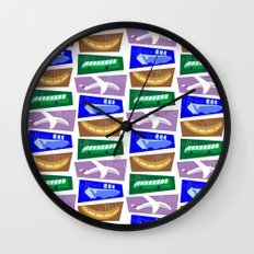 Transport Wall Clock