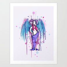 Dirty Wings Art Print