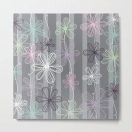Flower Play Metal Print