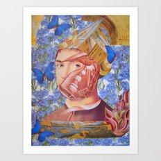 SALVATOR MUNDI Art Print