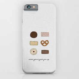 Never Gonna Give You Up, Kitchen Decor iPhone Case