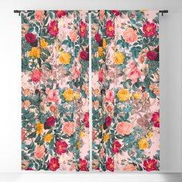 Summer Botanical Garden XI Blackout Curtain
