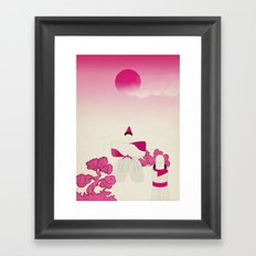 m a d e i n j a p a n # 1 Framed Art Print