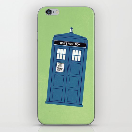 DOCTOR WHO. iPhone Skin
