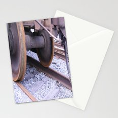 Wheels on the Track Stationery Cards