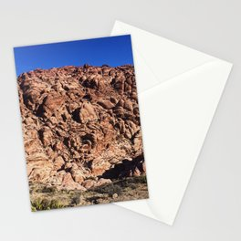 desert moutain in Red Rock Canyon Stationery Cards
