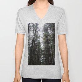 Through the Trees Unisex V-Neck