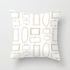 Frames Throw Pillow
