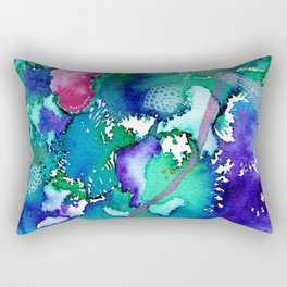 Microcosmos Rectangular Pillow