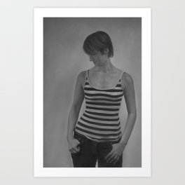 Leila Art Print