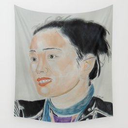 Gong Li Wall Tapestry