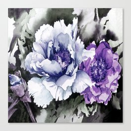 FLOWER PAINTING1 Canvas Print
