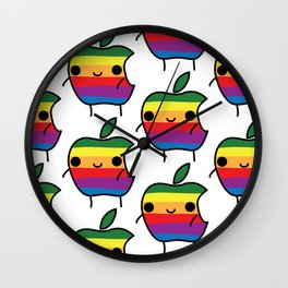 Apple Man Wall Clock