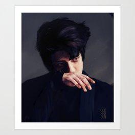 sehun | monster Art Print