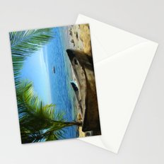 Boats at Las Caletas Stationery Cards