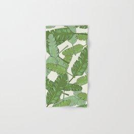 Banana Leaf Print Hand & Bath Towel