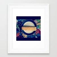 dessert Framed Art Prints featuring Dessert by Sweet Wednesday