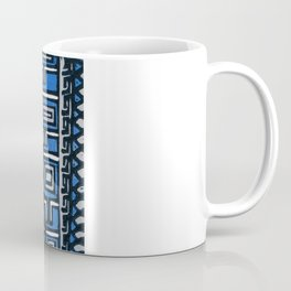 Primitive lino print Coffee Mug