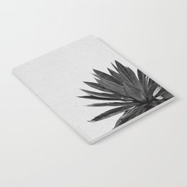 Agave Cactus Black & White Notebook