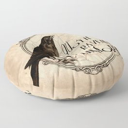 Quoth the Raven Nevermore Floor Pillow