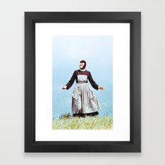 The sound of Lucha Libre Music Framed Art Print