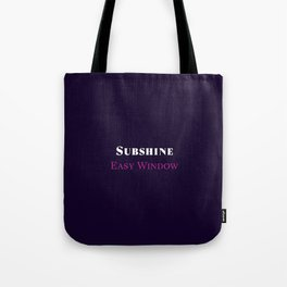 Subshine - Easy Window Tote Bag