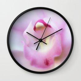 Cymbidium flower 9754 Wall Clock