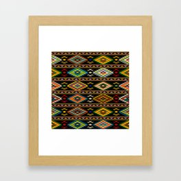 American Indian seamless pattern Framed Art Print