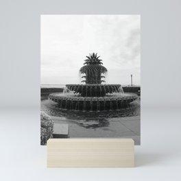 Pineapple Fountain Charleston River Park Mini Art Print