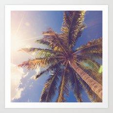 Palm Tree Dreams Art Print