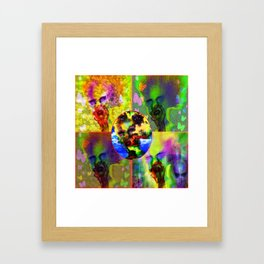 """Warholesque"" by surrealpete Framed Art Print"