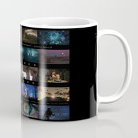 stanley kubrick Mugs featuring Famous Movie Scenes - 24 frames a second - Stanley Kubrick Quote by tanman1
