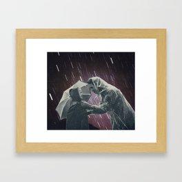 Star shower. Framed Art Print