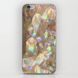 Unicorn Horn Aura Crystals iPhone Skin