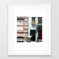 dentist Framed Art Prints featuring SoHo Dentist by John Chehak