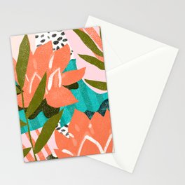If I had a flower for every time I think about you, I could walk forever in my garden Stationery Cards