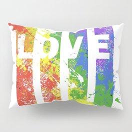 LOVE/COLOR Pillow Sham