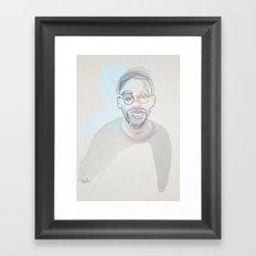 One lineSpike Lee Framed Art Print
