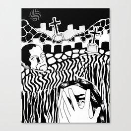 constant fear Canvas Print