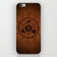 the legend of zelda iPhone & iPod Skins featuring The Legend Of Zelda by Electra